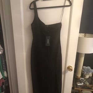 Likely Camden One-Shoulder Gown (Black; 6)